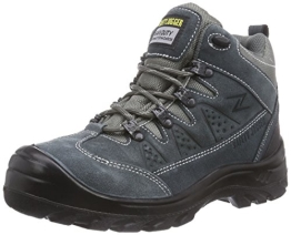 Safety Jogger SATURNUS, Unisex - Erwachsene Arbeits & Sicherheitsschuhe S1, grau, (blk/dgr/mgr 172), EU 42 - 1