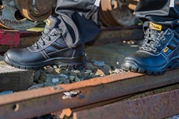 Leder-Sicherheitsstiefel Wasserdicht S3 1007 Black Hammer im Einsatz
