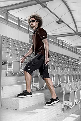 Uvex 1 Sport S3 ESD Sicherheitsschuhe für Herren - Bequeme & Atmungsaktive Arbeitsschuhe für Männer im Einsatz