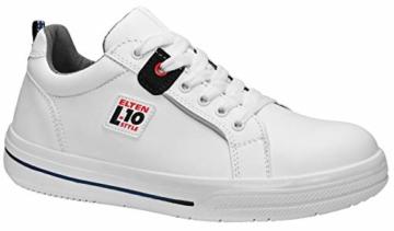 ELTEN Sicherheitsschuhe GHOST Low ESD S3, Herren, sportlich, Sneaker, leicht, weiß, Stahlkappe