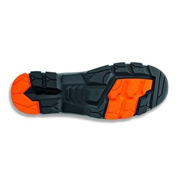 Uvex 2 Arbeitsschuhe - Sicherheitsstiefel S3 SRC ESD - Orange-Schwarz Sohle