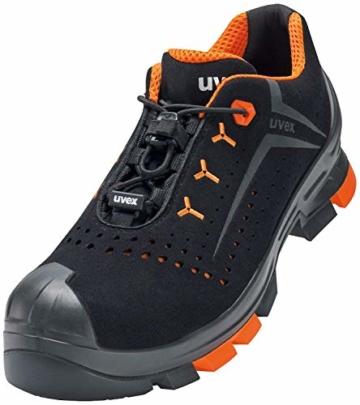 Uvex 2 - Sicherheitsschuhe S1P SRC ESD - Orange/Schwarz