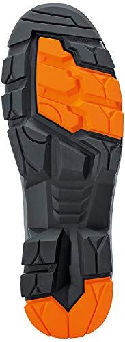 Uvex 2 - Sicherheitsschuhe S1P SRC ESD - Orange/Schwarz Sohle