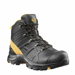 Haix Black Eagle Safety 54 mid/Black-orange S3 Sicherheitsschuh